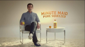 Minute Maid Pure Squeezed TV Spot, 'Orange Turn' Featuring Ty Burrell - 38 commercial airings