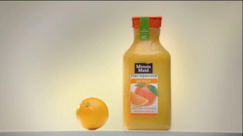 Minute Maid Pure Squeezed TV Spot, 'Orange Turn' Featuring Ty Burrell - Thumbnail 3