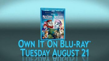 The Rescuers Blu-ray TV Spot