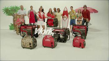 Honda Generators TV Spot For Portable Generators