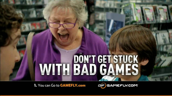 GameFly.com TV Spot Don't Get Stuck With Bad Games