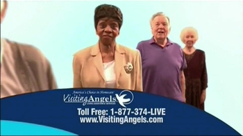 Visiting Angels TV Spot For Everyone Is Different - Thumbnail 2