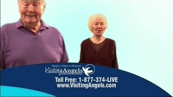 Visiting Angels TV Spot For Everyone Is Different - Thumbnail 4