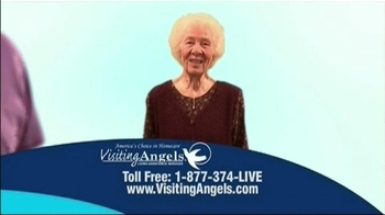 Visiting Angels TV Spot For Everyone Is Different - Thumbnail 5