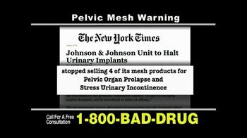 Pulaski & Middleman, L.L.C, Attorneys TV Spot For Pelvic Mesh - Thumbnail 3