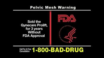 Pulaski & Middleman, L.L.C, Attorneys TV Spot For Pelvic Mesh - Thumbnail 5