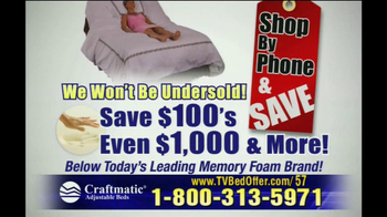 Craftmatic TV Spot For Shop By Phone and Save - Thumbnail 7
