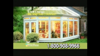 Four Seasons Sunrooms TV Spot For The Way You Live - Thumbnail 2
