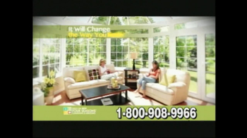 Four Seasons Sunrooms TV Spot For The Way You Live - Thumbnail 3