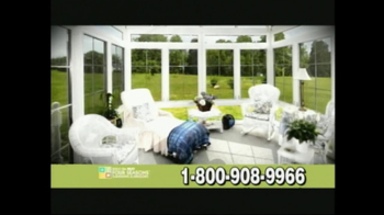 Four Seasons Sunrooms TV Spot For The Way You Live - Thumbnail 5