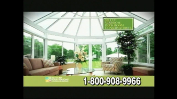Four Seasons Sunrooms TV Spot For The Way You Live - Thumbnail 7