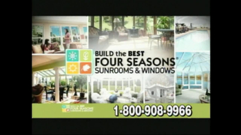 Four Seasons Sunrooms TV Spot For The Way You Live - Thumbnail 8