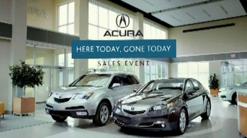 Acura TV Spot For Here Today, Gone Today Sales Event - Thumbnail 9
