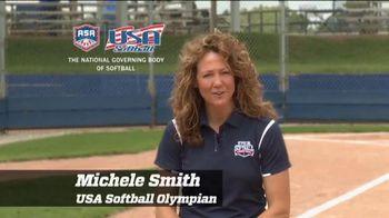Team USA TV Spot, 'USA Softball Legacy Club' Featuring Michele Smith