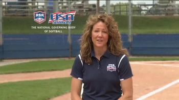 Team USA TV Spot, 'USA Softball Legacy Club' Featuring Michele Smith - Thumbnail 9