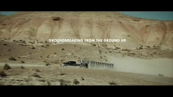 Ram Trucks TV Spot, 'Groundbreaking From the Ground Up' - Thumbnail 10