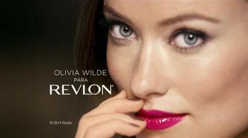 Revlon Colorstay Moisture Stain TV Spot Con Olivia Wilde [Spanish] - 169 commercial airings