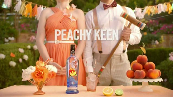 Pinnacle Peach Vodka TV Spot, 'Peachy Keen'