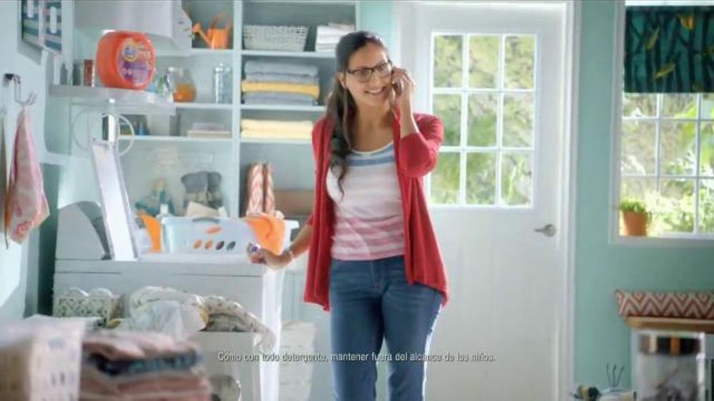 tide pods tv commercial secretos de familia ispottv