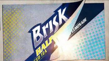 7-Eleven TV Spot, 'Brisk Iced Tea Blueberry Lemonade Half & Half' - Thumbnail 2