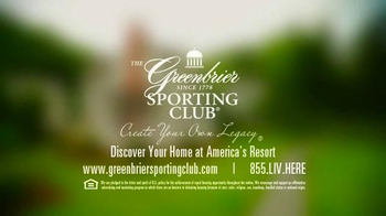 The Greenbrier Sporting Club TV Spot Featuring John Smoltz and Denny Hamlin - Thumbnail 10