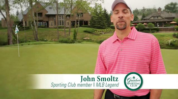 The Greenbrier Sporting Club TV Spot Featuring John Smoltz and Denny Hamlin - Thumbnail 3