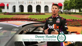The Greenbrier Sporting Club TV Spot Featuring John Smoltz and Denny Hamlin - Thumbnail 5