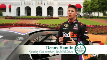 The Greenbrier Sporting Club TV Spot Featuring John Smoltz and Denny Hamlin - Thumbnail 6
