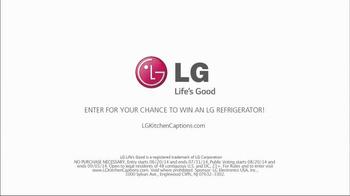 LG Door-in-Door Refrigerator TV Spot, 'Entertaining' Featuring Katie Lee - Thumbnail 10