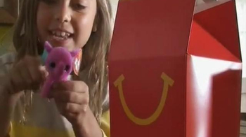 McDonald's Happy Meal TV Spot, 'Teenie Beanie Boo's' - 263 commercial airings