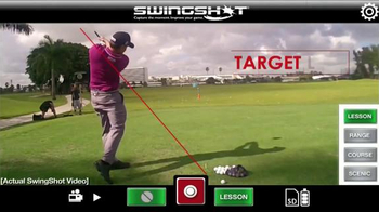 SwingShot Golf Video Camera TV Spot Featuring Erik Compton - 323 commercial airings