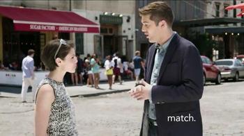 Match.com TV Spot, 'Match on the Street: Meet People Organically' - Thumbnail 1