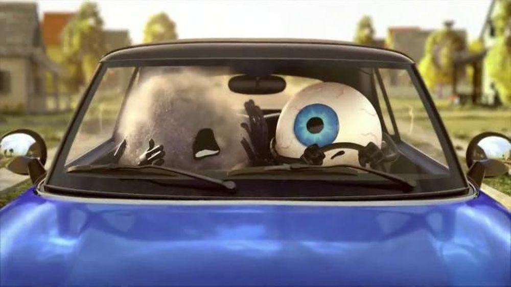 Visine Original Redness Reliever Eye Drops TV Commercial, 'Irritating Dust'