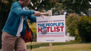 Xfinity The People's Hot List TV Spot, 'I Voted' - 469 commercial airings