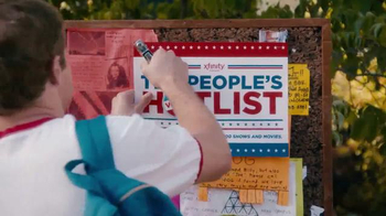 Xfinity The People's Hot List TV Spot, 'I Voted' - Thumbnail 2