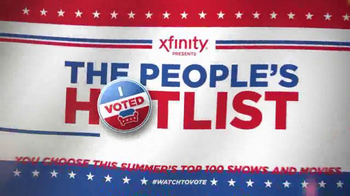 Xfinity The People's Hot List TV Spot, 'I Voted' - Thumbnail 8
