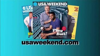 USA Weekend Magazine TV Spot - 17 commercial airings