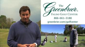 The Greenbrier TV Spot Featuring Sir Nick Faldo - Thumbnail 10