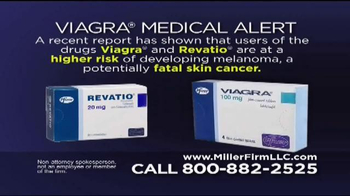 Miller Firm TV Spot, 'Viagra Medical Alert'