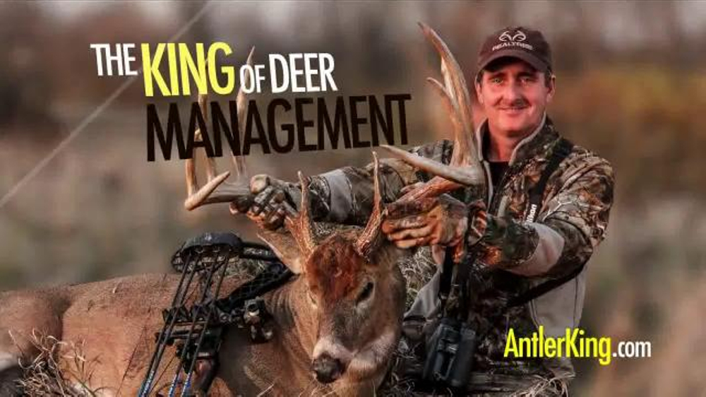 Antler King Apple Burst Tv Commercial King Of Deer Nutrition