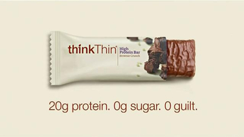 thinkThin High Protein Bar TV Spot, 'Runner' - Thumbnail 9