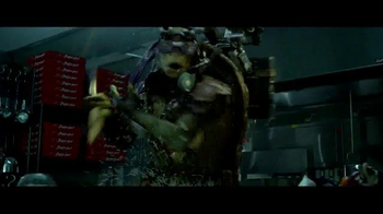 Pizza Hut Cheesy Bites TV Spot, 'Teenage Mutant Ninja Turtles' - Thumbnail 5