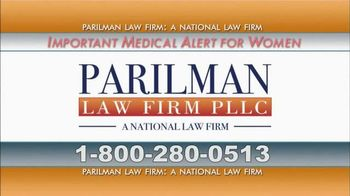 Parilman & Associates TV Spot, 'Transvaginal Mesh'