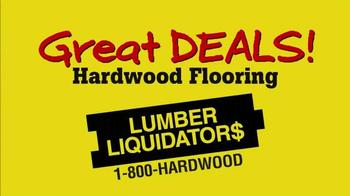Lumber Liquidators TV Spot, '20% Off' - Thumbnail 1