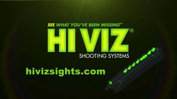 HiViz Sight Systems TV Spot, 'No Matter the Conditions' Featuring Chad Belding - Thumbnail 9