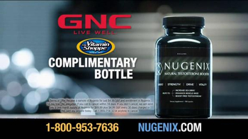 Nugenix Natural Testosterone Booster TV Spot - Thumbnail 10