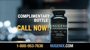 Nugenix Natural Testosterone Booster TV Spot - Thumbnail 6