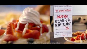 Denny's Red, White and Blue Slam TV Spot, 'Remix' [Spanish] - Thumbnail 7