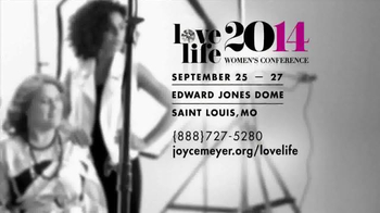 Joyce Meyer Ministries 2014 Love Life Women's Conference TV Spot - Thumbnail 8
