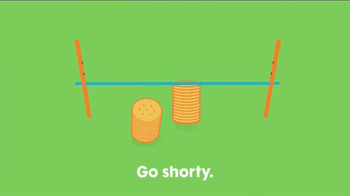 Ritz Crackers Fresh Stacks TV Spot, 'Go Shorty!' - Thumbnail 6